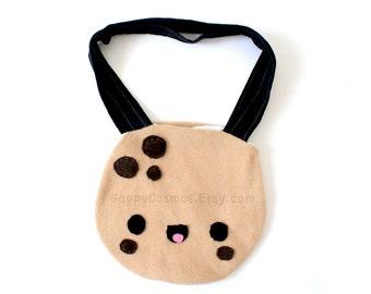 Cookie Tote Bag - Schoolbag, Backpack, Bookbag, Reusable Bag, Beach Bag, Women's Tote, Christmas Gift, Halloween Trick or Treat Bag