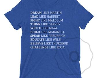 Black Lives Matter Shirt - Black History T-Shirt Rosa Parks Shirt Harriet Tubman Tee