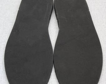 Free Shipping Black Pre-cut Rubber Soles Durable and Silent Perfect Replacements For Home Shoes and Slippers/ Scuffs!!