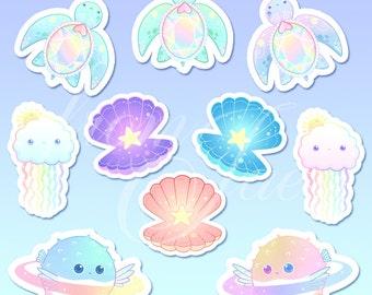 Stickers océan galactique [intégrale]