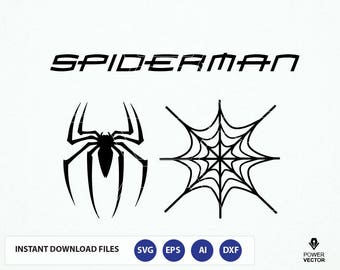 Spider web template etsy spiderman logo spider web svg spider man clip art spider man cut voltagebd Image collections