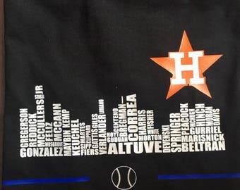 Houston Astros Skyline World Series
