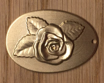 Personalised Pendant Rose Blossom