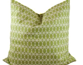 Green pillow cover, Throw pillow, Decorative pillow, Accent pillow, Couch cushion, Sofa pillow, Modern pillow, Sham, 13 sizes available