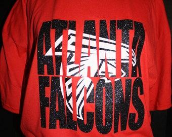 Atlanta Falcons Glitter