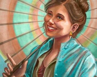 Firefly: Kaylee Frye (Jewel Staite Portrait)