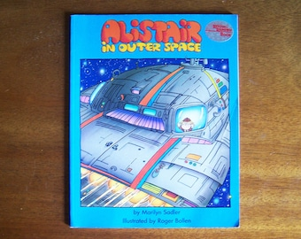 Alistair in Outer Space by Marilyn Sadler - Children's Book