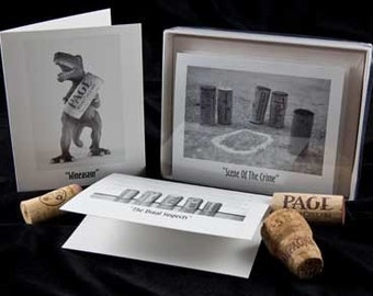 Fun With Corks Notecards