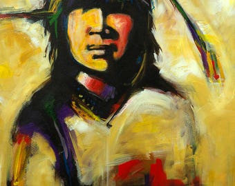 Young Warrior, Downloadable Print