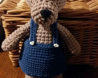 Jeremisie - amigurumi teddy bear