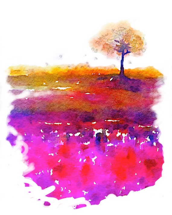 Tomoe River Insert - Pink Tree - Travelers Notebook Insert - Retiring Soon