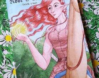 Wurzel und Zweig - Buch 2 - Fantasy Graphic Novel