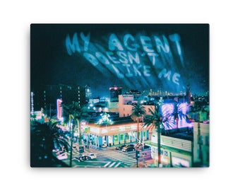 My Agent Doesn't Like Me | Insecure L.A. photo series | Canvas print