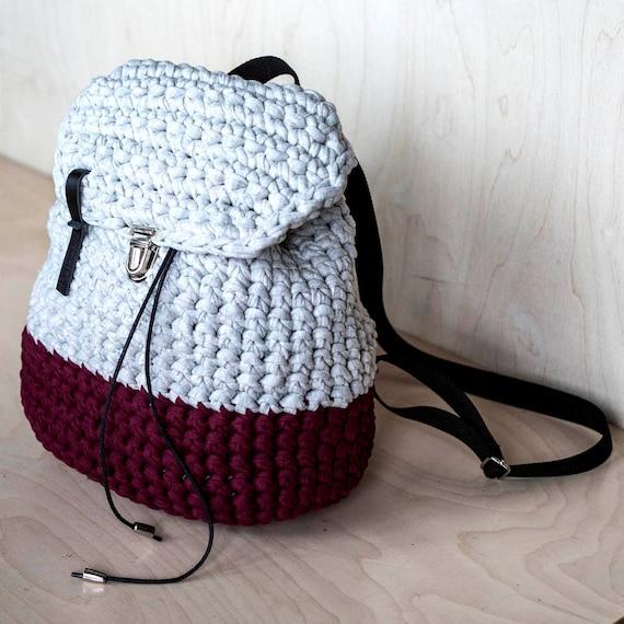 Lässige Hipster Rucksack / Mini Rucksack / Baumwolle Rucksack