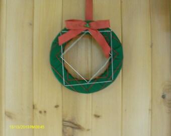Strings Of A Christmas Wreath