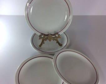 Iroquois China Restaurant Ware Set of 7 Plates