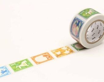 MT Ex Postage Stamp Washi Tape, MT Masking Tape