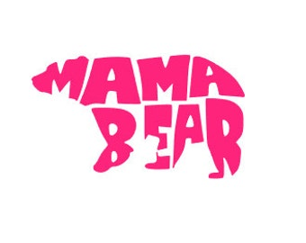 MAMA BEAR - Quality Vinyl Decal; Yeti Decal, Car Decal, Tumbler Decal, Decals for MOM, Fast Processing!