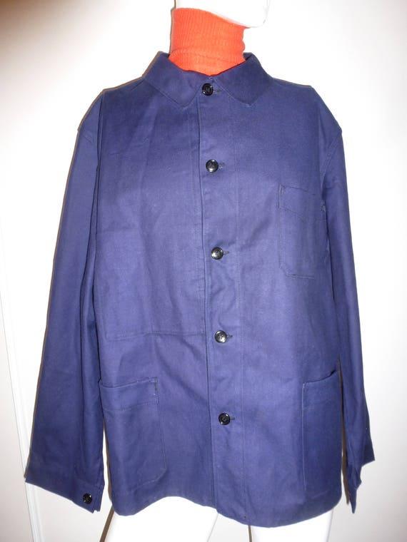 grandfather working blue moleskine evec moleskine Navy beret french shirt odc0IfI1q1