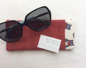 SALE - Sunglasses Case