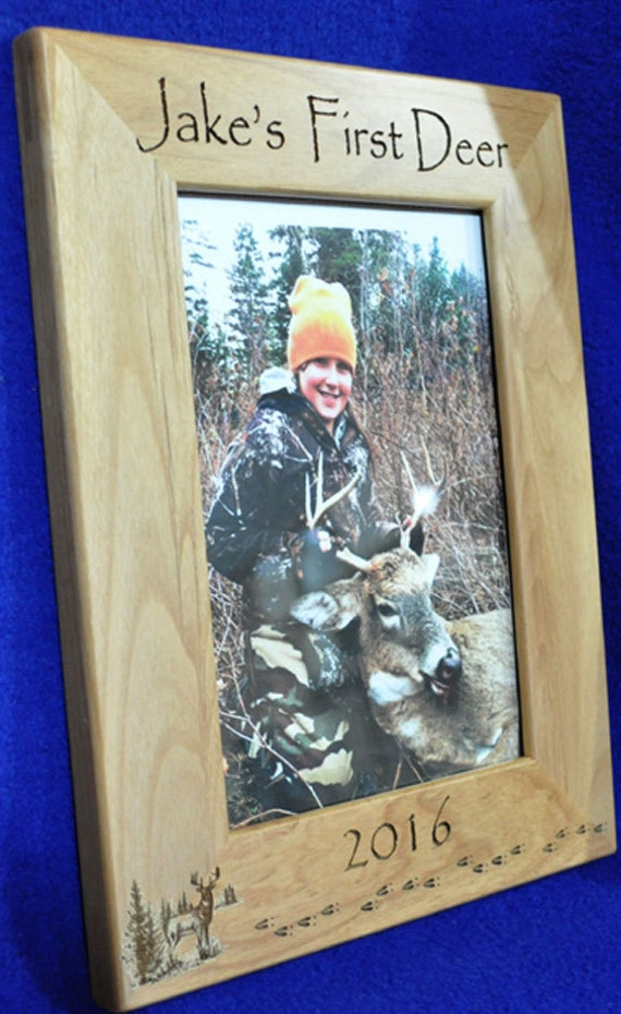 First Deer Frame ~ First Deer ~ Deer Hunting Frame ~ Custom Frames ...