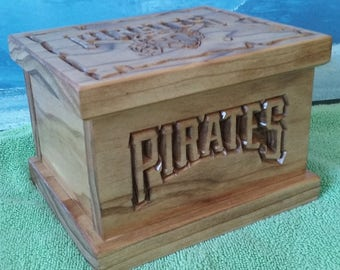 Pittsburgh Pirates keepsake box, Stash box, Trinket box, birthday, fathers day or christmas gift