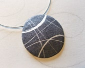 Flat beach rocks Pendant ...