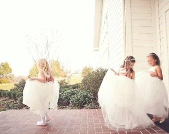 The Ballerina Flower Girl Dress or Junior Bridesmaid Dress