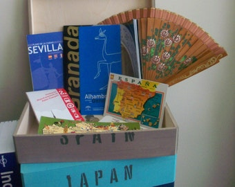 Travel Memory Box - Customizable