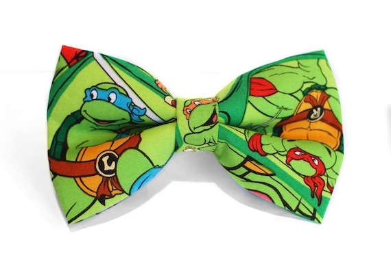 Teenage mutant ninja turtles bow tie kids bow tie boys bow ccuart Image collections
