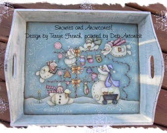 Snowies and Snowcones, email pattern packet by Deb Antonick
