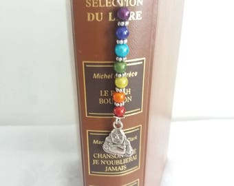 Bookmark silver 7 Chakras - C24