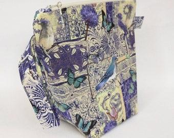 Sock Skinny - Blue Botanical