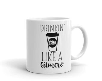 Coffee Cup. Drinkin' like a Gilmore