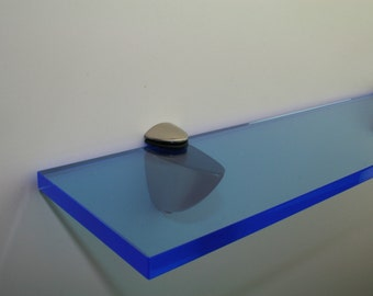 Acrylic Coloured Shelves - Blue Neon for Interiors