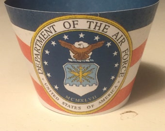 U.S. Air Force Cupcake Wrappers