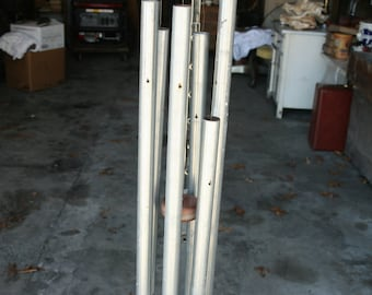 Giant homemade wind chime