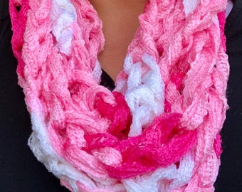 Infinity chain scarf