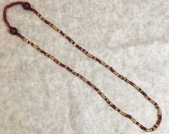 Cleveland Caveliers Morse Code Necklace