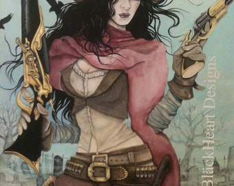 SALE! Rogue Ransom Exclusive ORIGINAL Painting 24x30