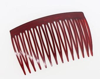 6 Pcs - Blank Plastic Hair Combs  7x4cm