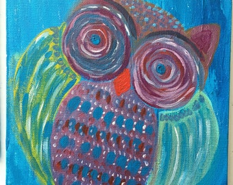 Whimsical Night Owl