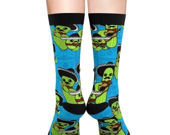 Mariachi Nopales Sublimation Socks