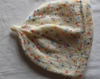 Hat Baby Toddler Hand Knitted Superfine Yarn