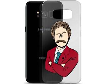 Stay Classy Ron Burgundy Samsung Phone Case