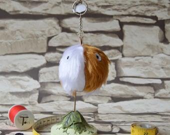 Bob the Mini Monster fur keyring
