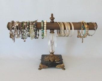 SALE 6Arm Jewelry Organizer on Bronzed Goddess Base