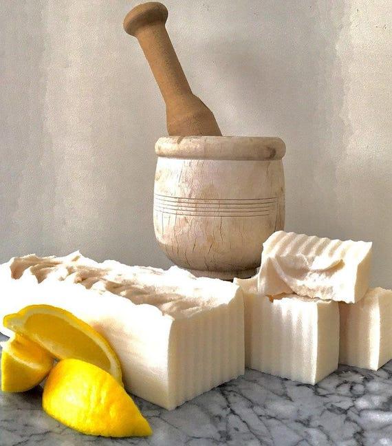 Lemon Verbena Olive Oil Soap (Castile) Vegan