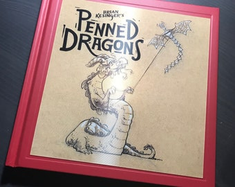 Brian Kesinger's Penned Dragons *SIGNED COPY*