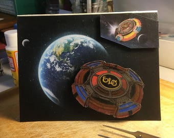 Electric Light Orchestra - ELO - All Over The World (Decoupage/3D) Card